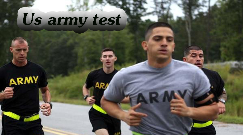 U.S.Army New fitness test