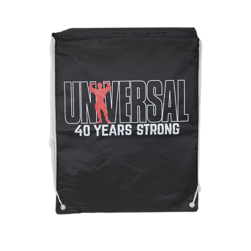 Universal Black Drawstring Bag