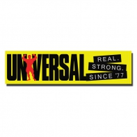 Univ Bumper Sticker Yellow