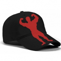 Univ Red Man Snapback Freesize