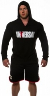 Univ Light Weight Hoodie Black