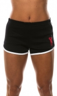 Univ Ladies Jog Shorts Black